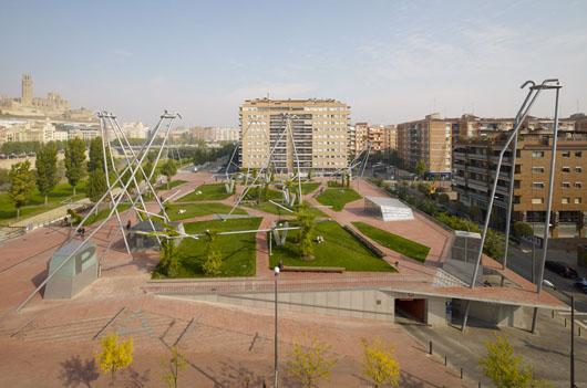 Paisajismo: Plaza Blas Infante - Estudio Domingo Ferré