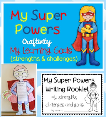 Image Super Powers Craftivity - Learning Goals