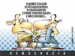 Democracia corrupção gestão criminosa