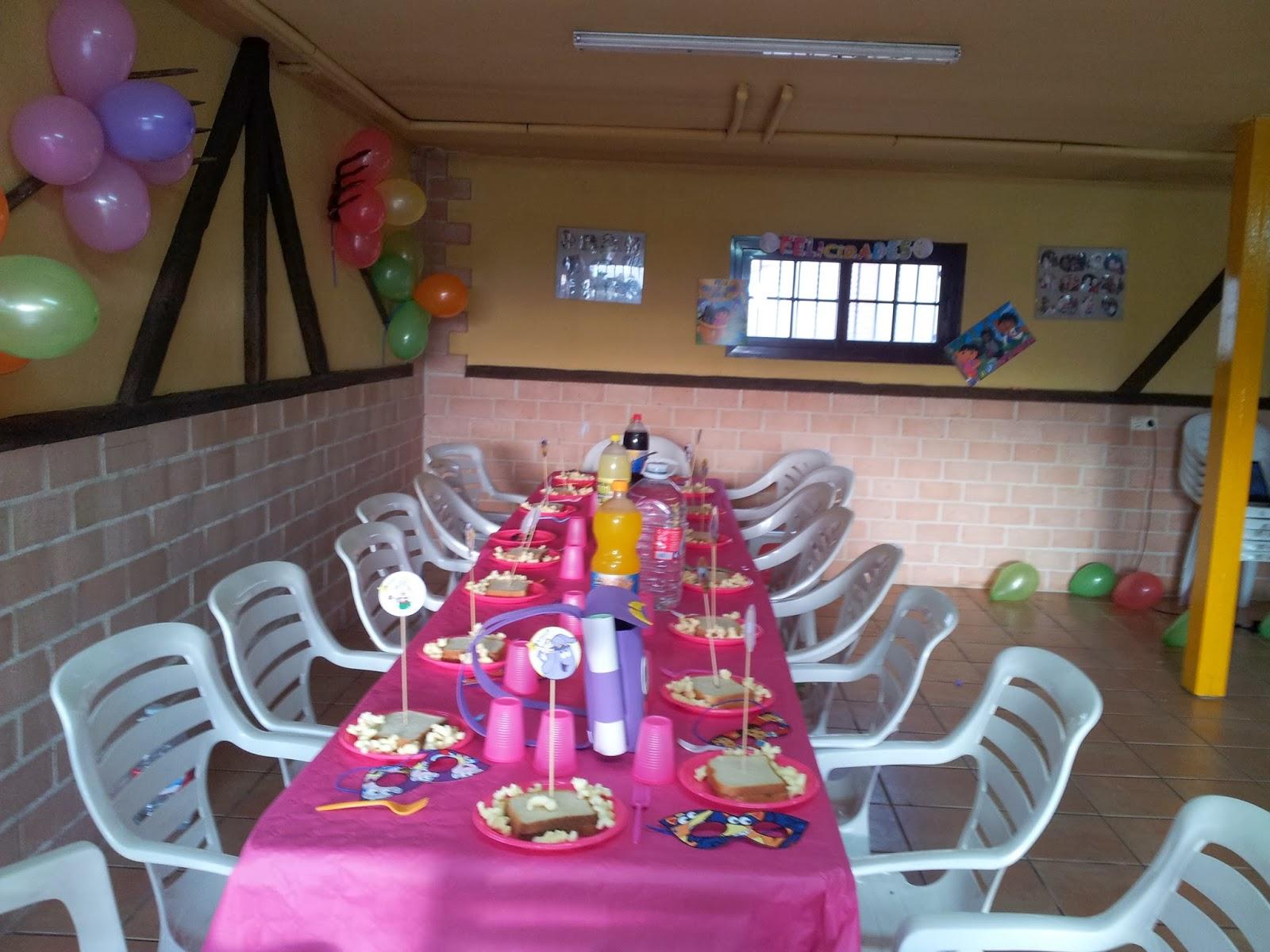 Cumplea os y fiestas infantiles fiesta de cumplea os de - Decoracion fiesta 18 cumpleanos ...