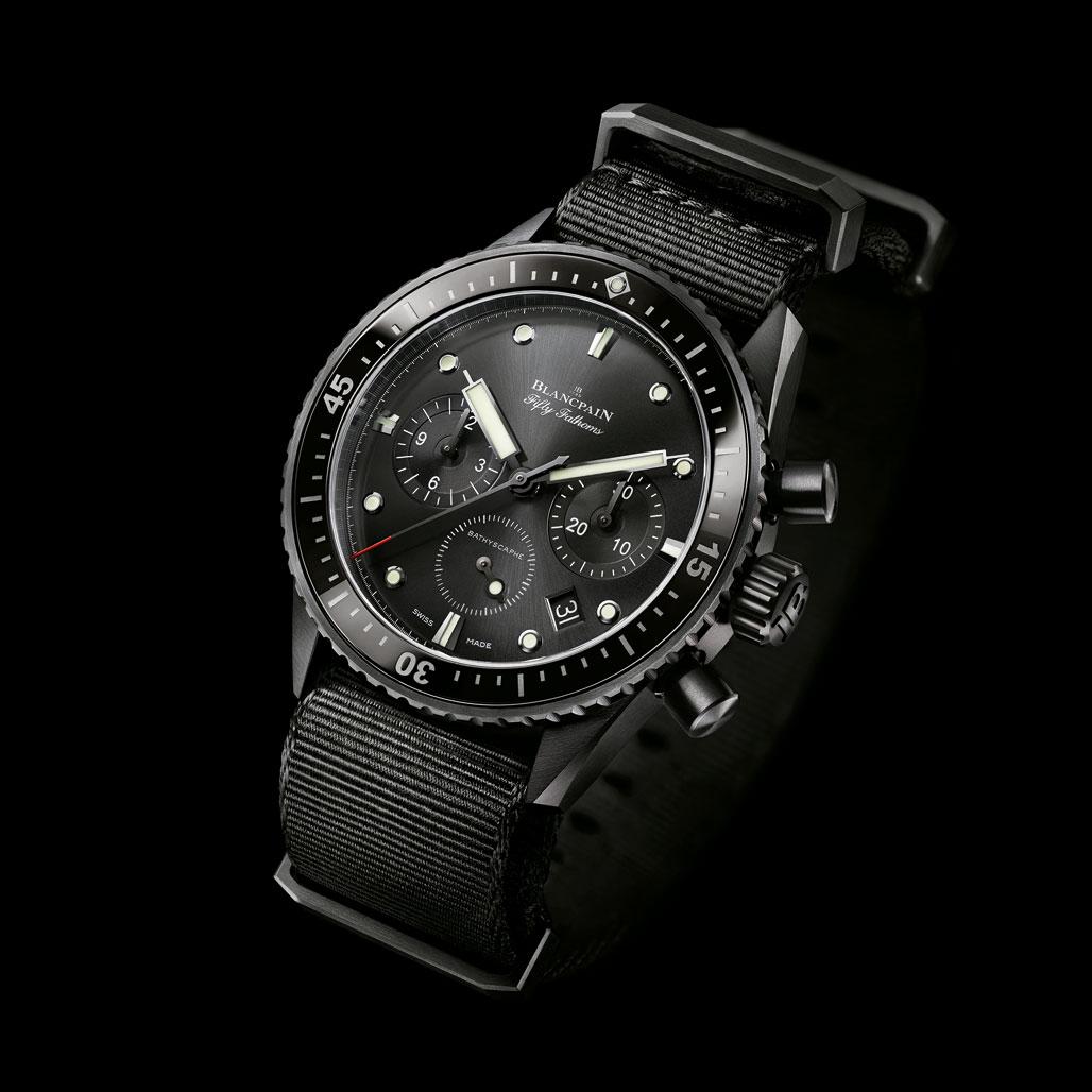Blancpain Bathyscaphe Flyback Chronograph Watch