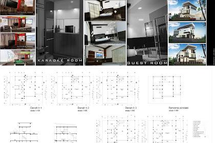 Jasa Gambar Rumah Lengkap meliputi Gambar Potongan, Detail Kusen, Rencana Kusen, Rencana Sanitasi, Rencana Atap