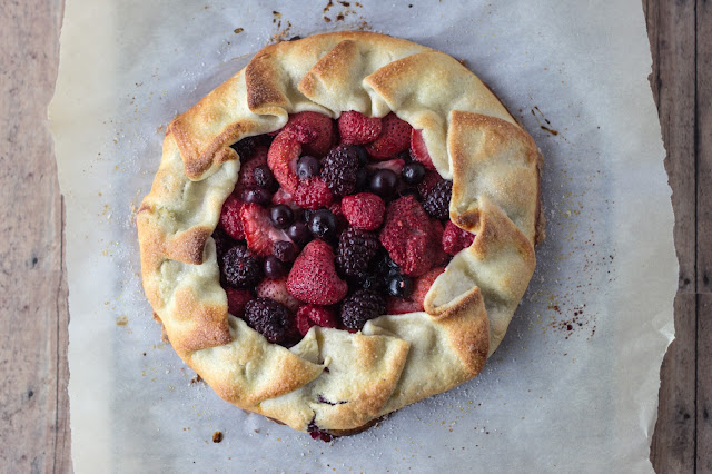 Rustic Berry Tart | Cooking on the Front Burner for White Lights on Wednesday
