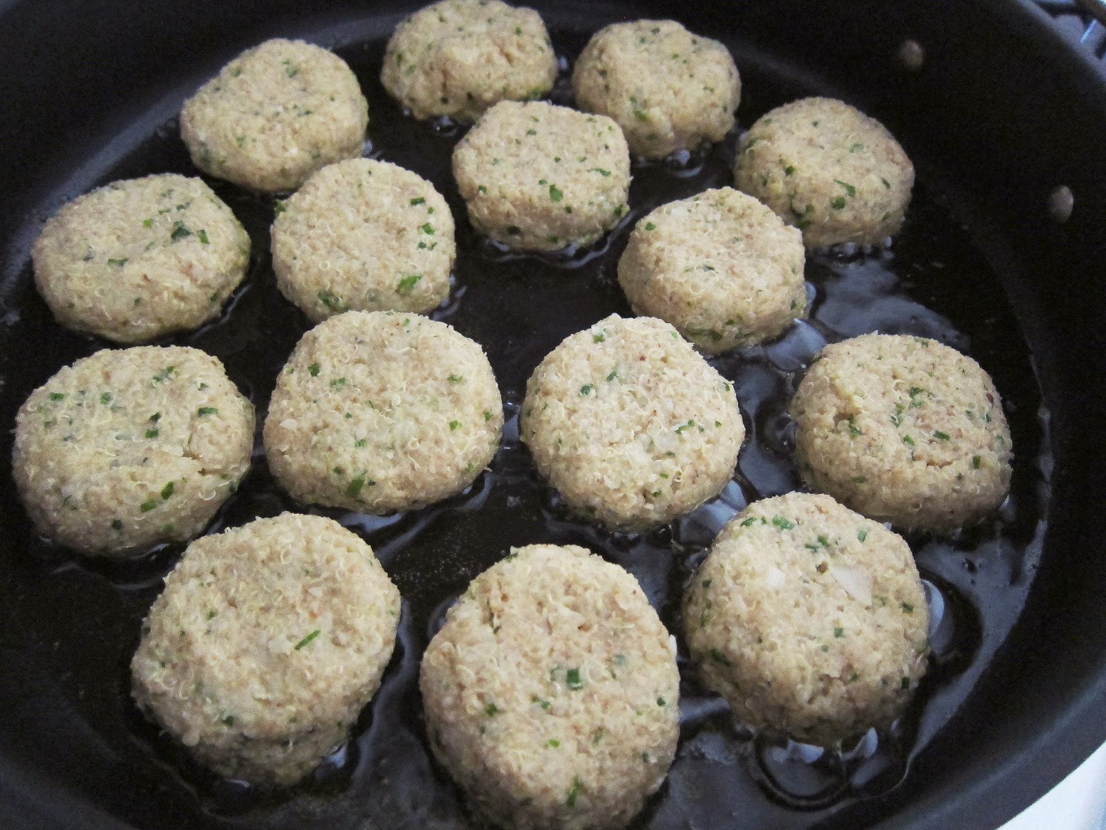 Bloatal Recall: Little Quinoa Patties