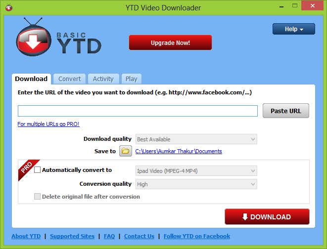 youtube video downloader free download software for windows 8
