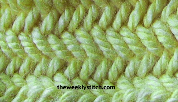 Herringbone Stitch In The Round The Weekly Stitch