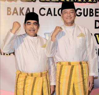 Bakal Calon Gubri dan Wagubri 2013-2018