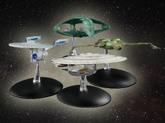 Star Trek Eaglemoss Ships