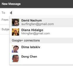 messaggi ai contatti Google+