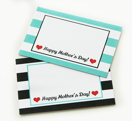Mother's Day Printable Gift Tag | Paper & Party Love