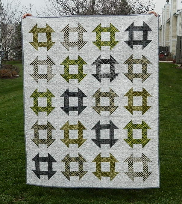s.o.t.a.k handmade: churn dash quilt {finished} : churn dash quilt block - Adamdwight.com