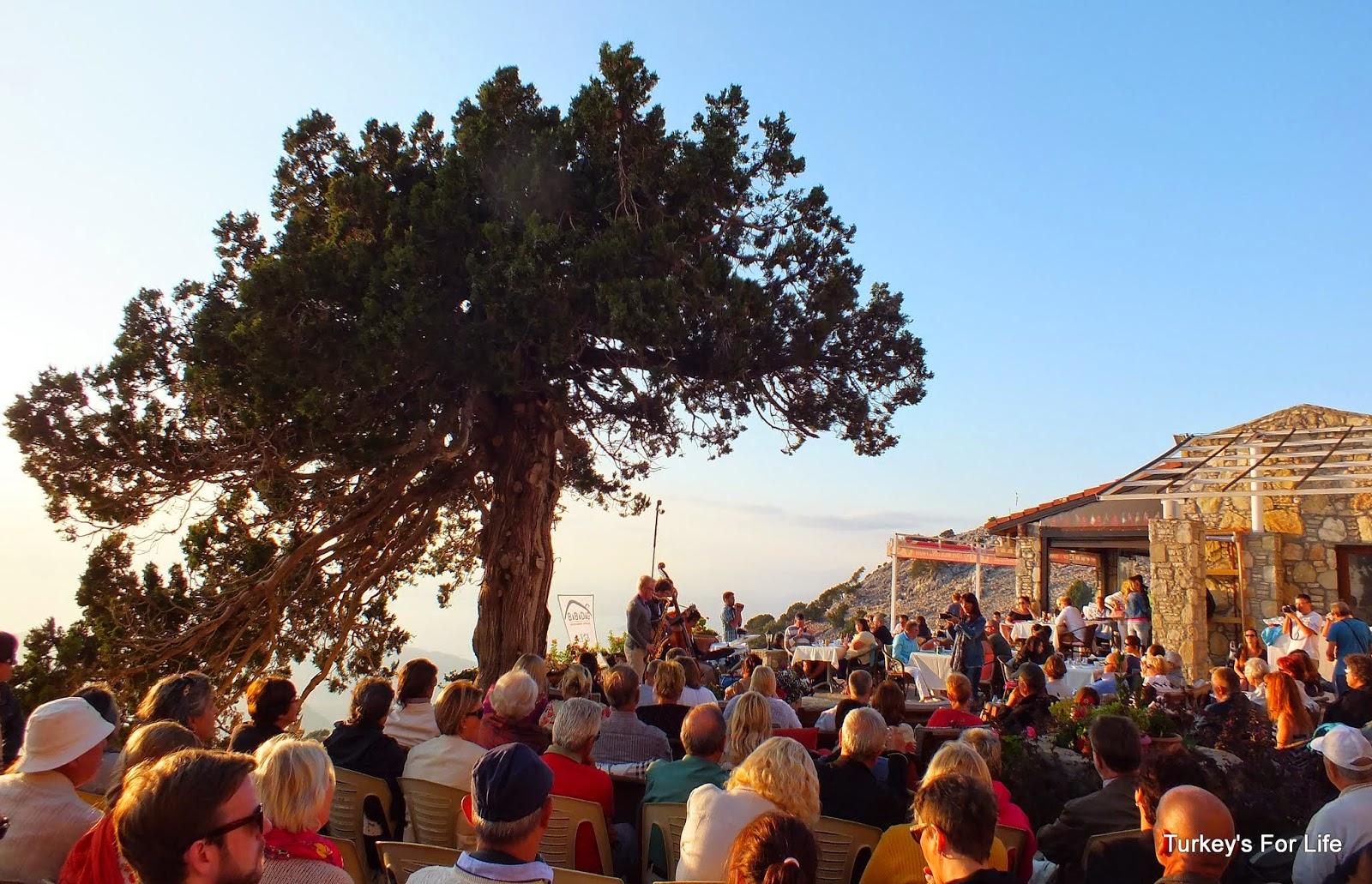 Live Jazz Music, Zirve Cafe, Babadağ, Ölüdeniz