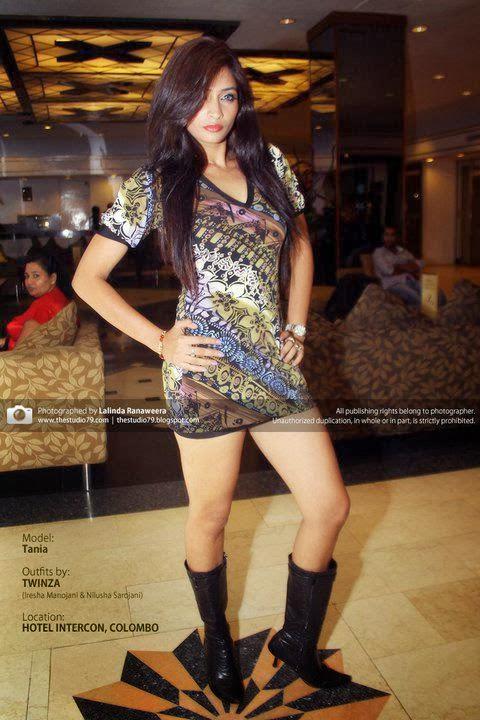 Tania Deen hot white legs