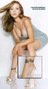 alyssa milano tattoo