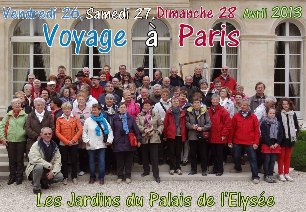 Horti quimper retrospective ann e 2012 2013 - Vacances paris avril ...