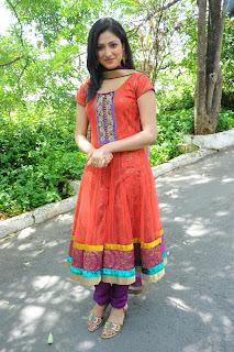 Hari Priya Looks Stunning in orange Salwar suit Must see beauty Celebrity Fashion