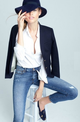 J.Crew Fall Denim Collection 2012-7
