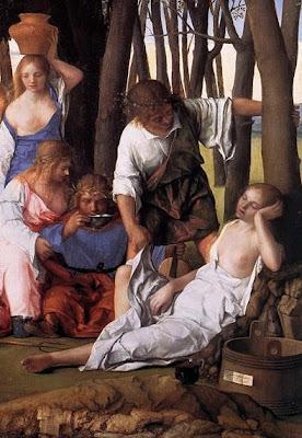 Bellini: Ninfa, Cerere ed Apollo, Priapo e Lotide, o Vesta..