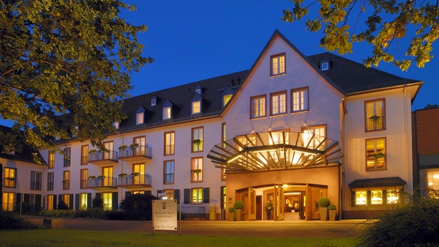 Dica de Hotel em Frankfurt Alemanha HOTEL KEMPINSKI Gravenbruch 5  #1551B6 1422 800