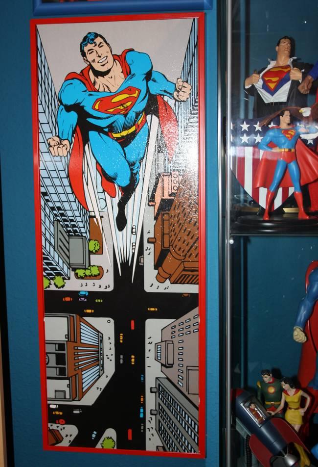 COLECCIONABLE DE LA SEMANA: CUADRO DE SUPERMAN DE 80X30 ...