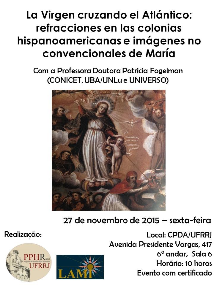 Conferencia de Patricia Fogelman en la UFRRJ