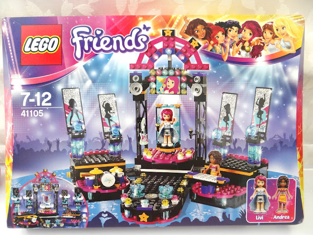 LEGO Friends Pop Star, LEGO mechanism, interactive toy