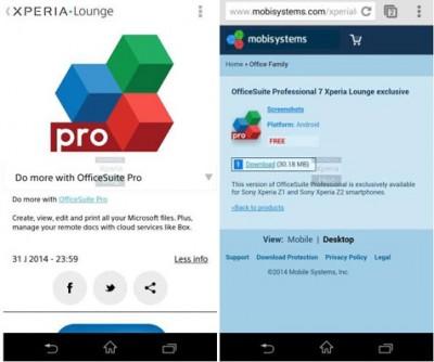 Sony Tawarkan Aplikasi Premium Khusus Pengguna Xperia Z2, Z1 dan Z1s