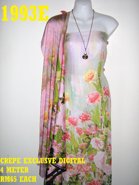 CP 1993E: CREPE EXCLUSIVE DIGITAL PRINTED, 4 METER