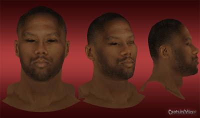 NBA 2K13 Elton Brand Cyberface Mod