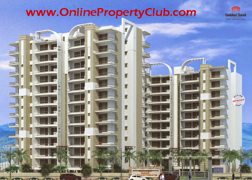 GOLDEN SAND APARTMENTS ZIRAKPUR Flats 9023407035