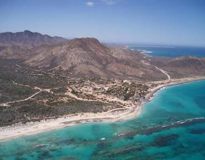 Desaparece playa en los Frailes, Baja california