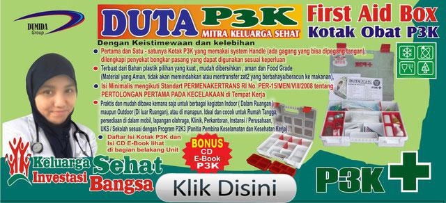 jual kotak p3k murah, distributor kotak p3k surabaya