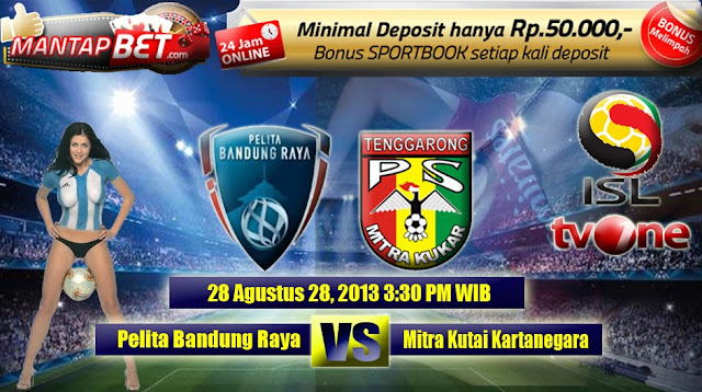 Pelita Bandung Raya vs Mitra Kukar ISL 2013