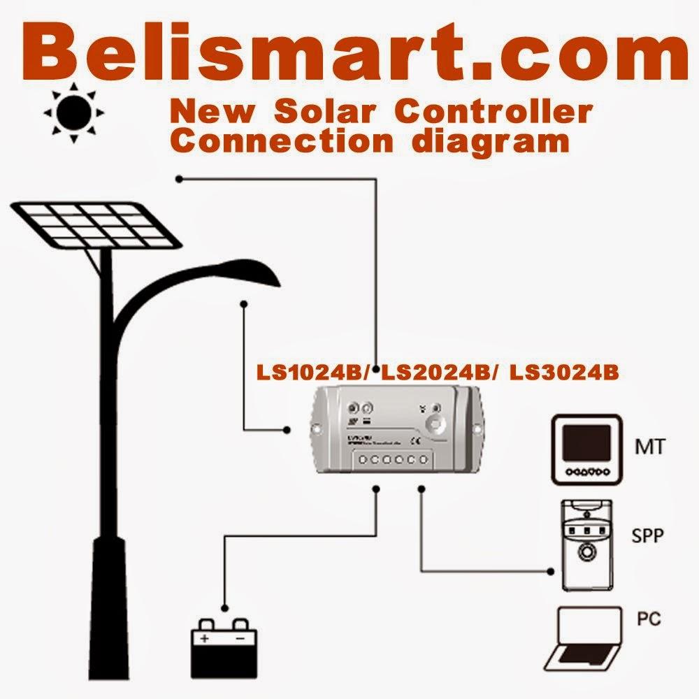 Belismartstore Belismartcom 20a Ls2024b Solar Charge Controller 12v Wiring Diagram 24v