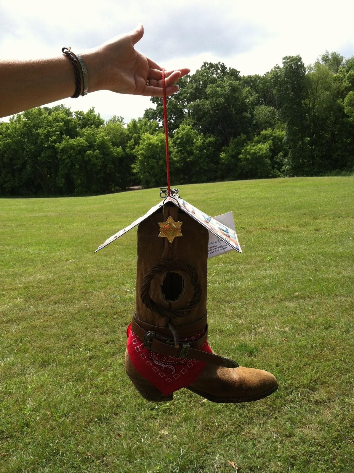 Countrygirl Soul: Cowboy Boot Birdhouse