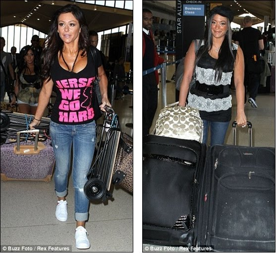 jersey shore season 4 italy trailer. Jersey Shore cast touch down