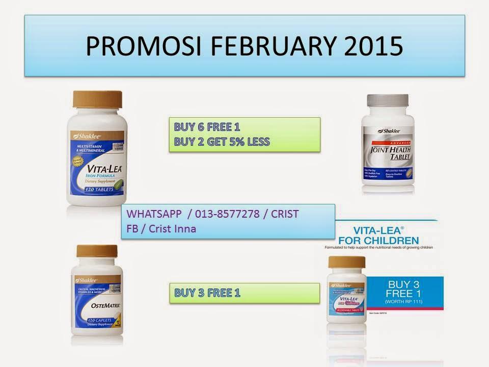 Promosi February 2015