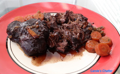 Carole's Chatter: Beef Cheek Ragout