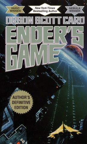 the cover of Ender's Game by Orson Scott Card