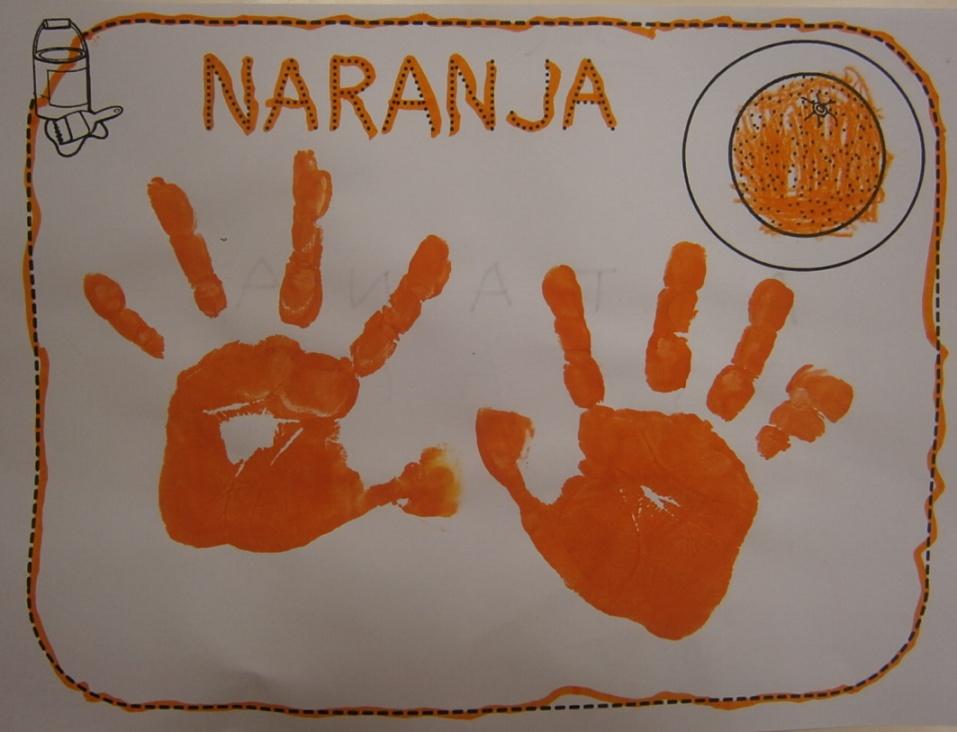 La clase de miren mis experiencias en el aula taller de - Pintura naranja pared ...