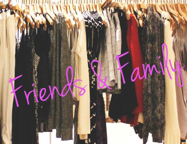 Friends & Family Sale Image