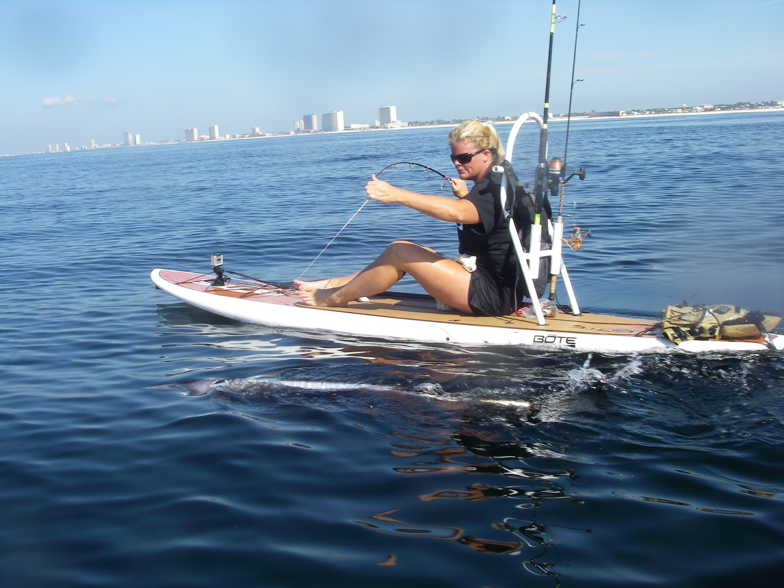 Live adventure november 2012 for Fishing paddle boards