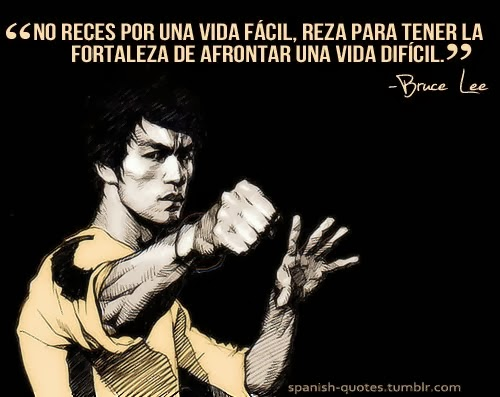 Escuchando a Bruce Lee