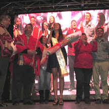 Coronación Reina VIII Festival Nacional del Folclore 2017