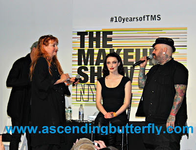 Signature Style Ellis Faas q n a presentation 5 with James Vincent during The Makeup Show 2015 in New York City #10 yearsofTMS WATERMARKED, The Makeup Show, Beauty, Cosmetics, #bbloggers, Lifestyle Blogger