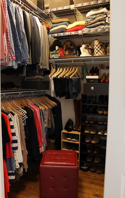 What do you think would you rather have a larger closet for Diy master closet ideas
