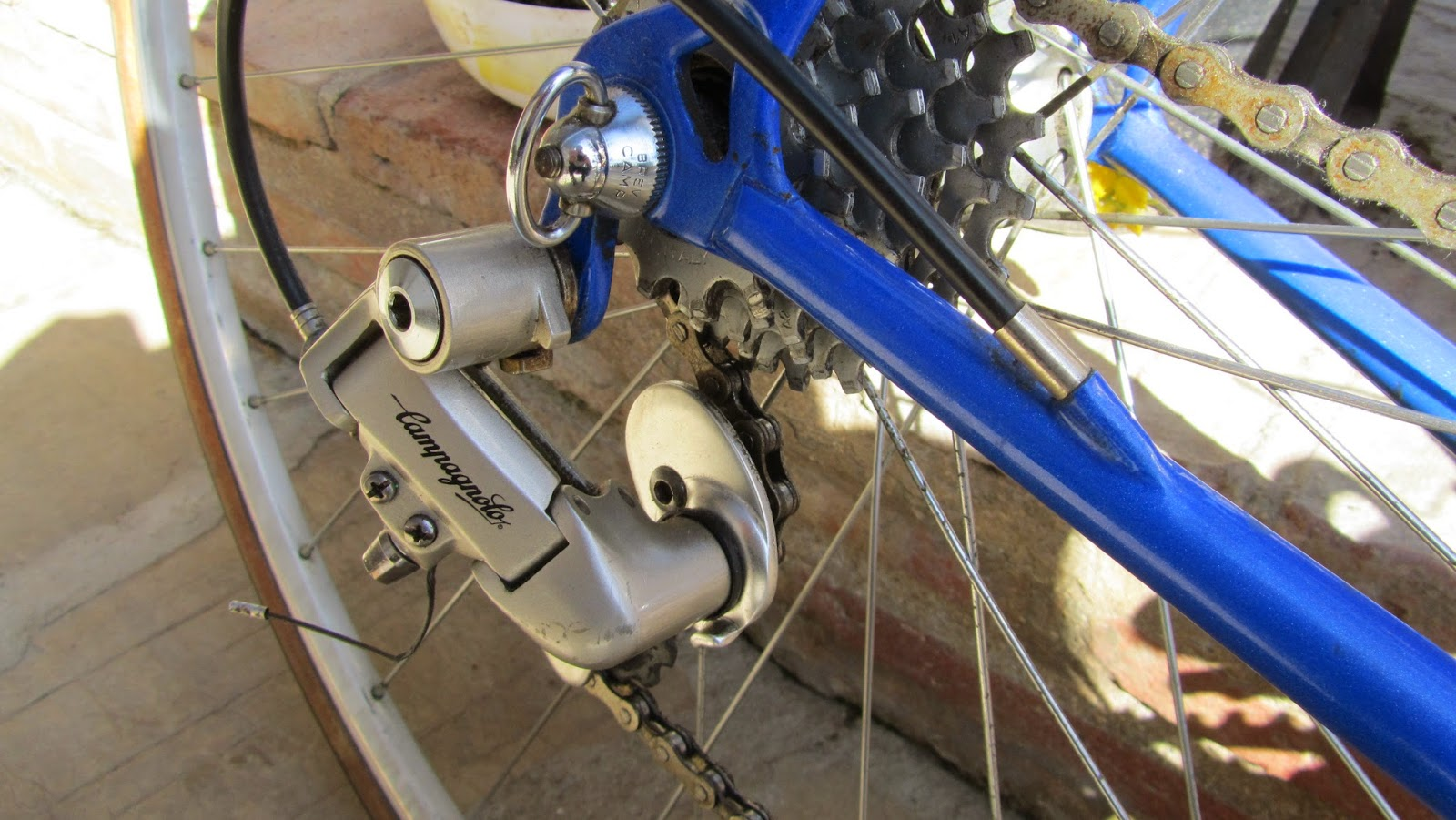bicicleta orbea contrarreloj - deralieur campagnolo