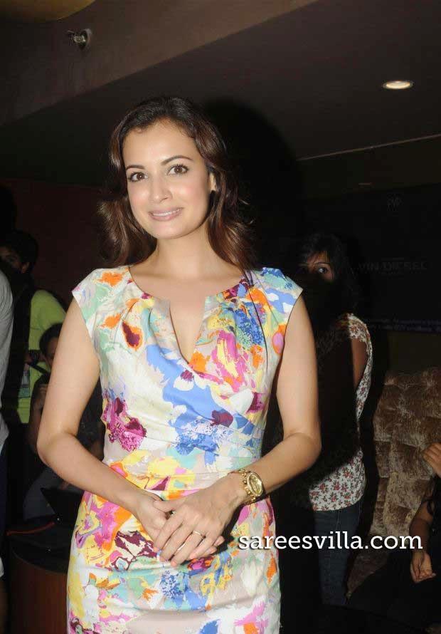 Dia Mirza at Bobby Jasoos Movie Trailer Launch