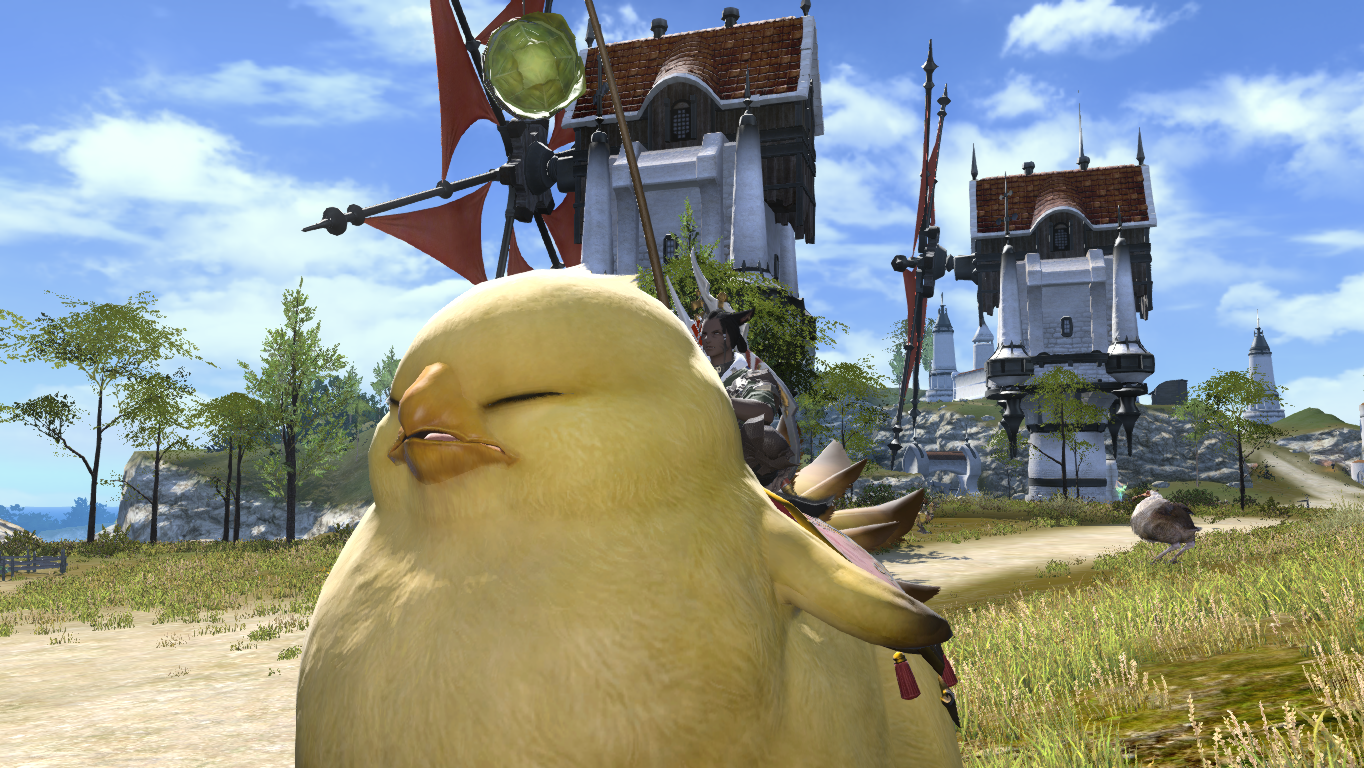 how to get chocobo mount ffxiv