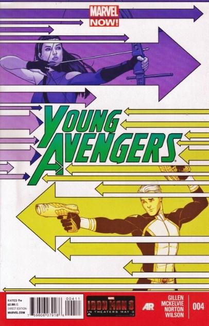 Young Avengers # 4 - Kieron Gillen Jamie McKelvie